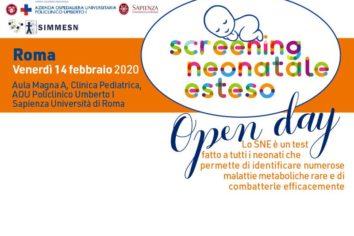 Screening neonatale esteso: a Roma si svolgerà un Open Day dedicato