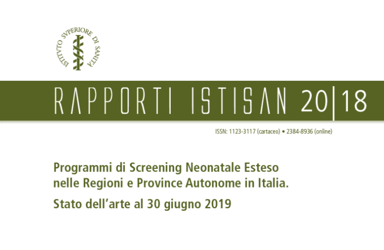 Screening neonatale esteso assicurato in tutta Italia: mancano solo i dati della Calabria