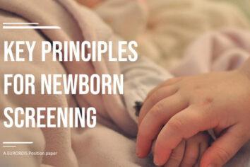 Screening neonatale, gli 11 principi chiave di EURORDIS
